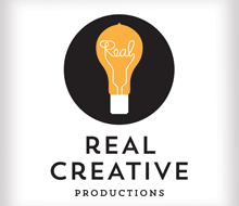Real Creative Productions logo and brand